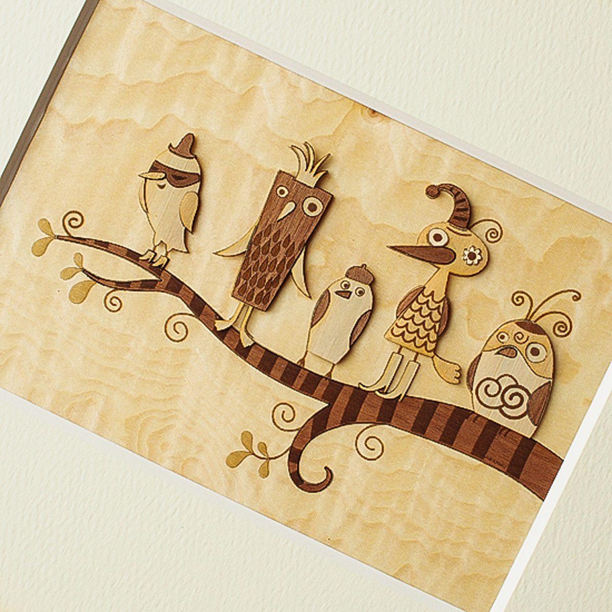 Набор «Забавные птицы»