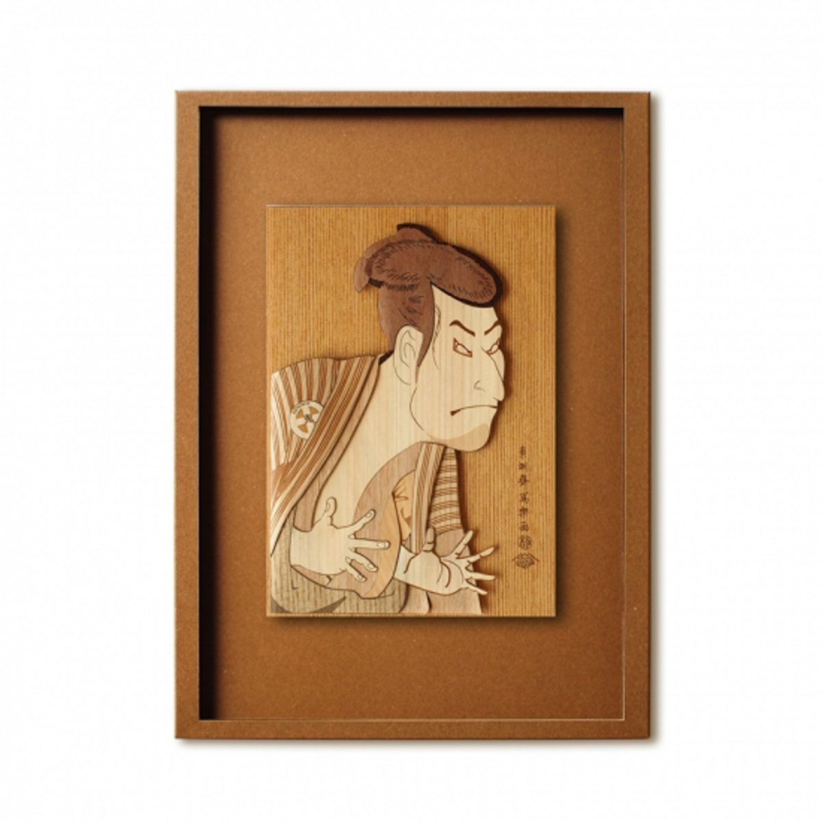 Набор Кихари «Актер Кабуки», гравюра