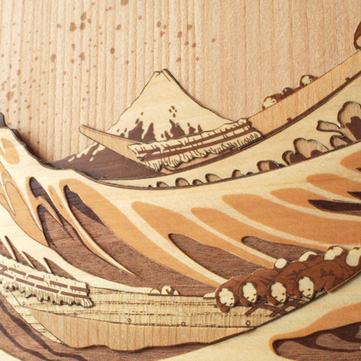 Набор «Большая волна в Канагаве»