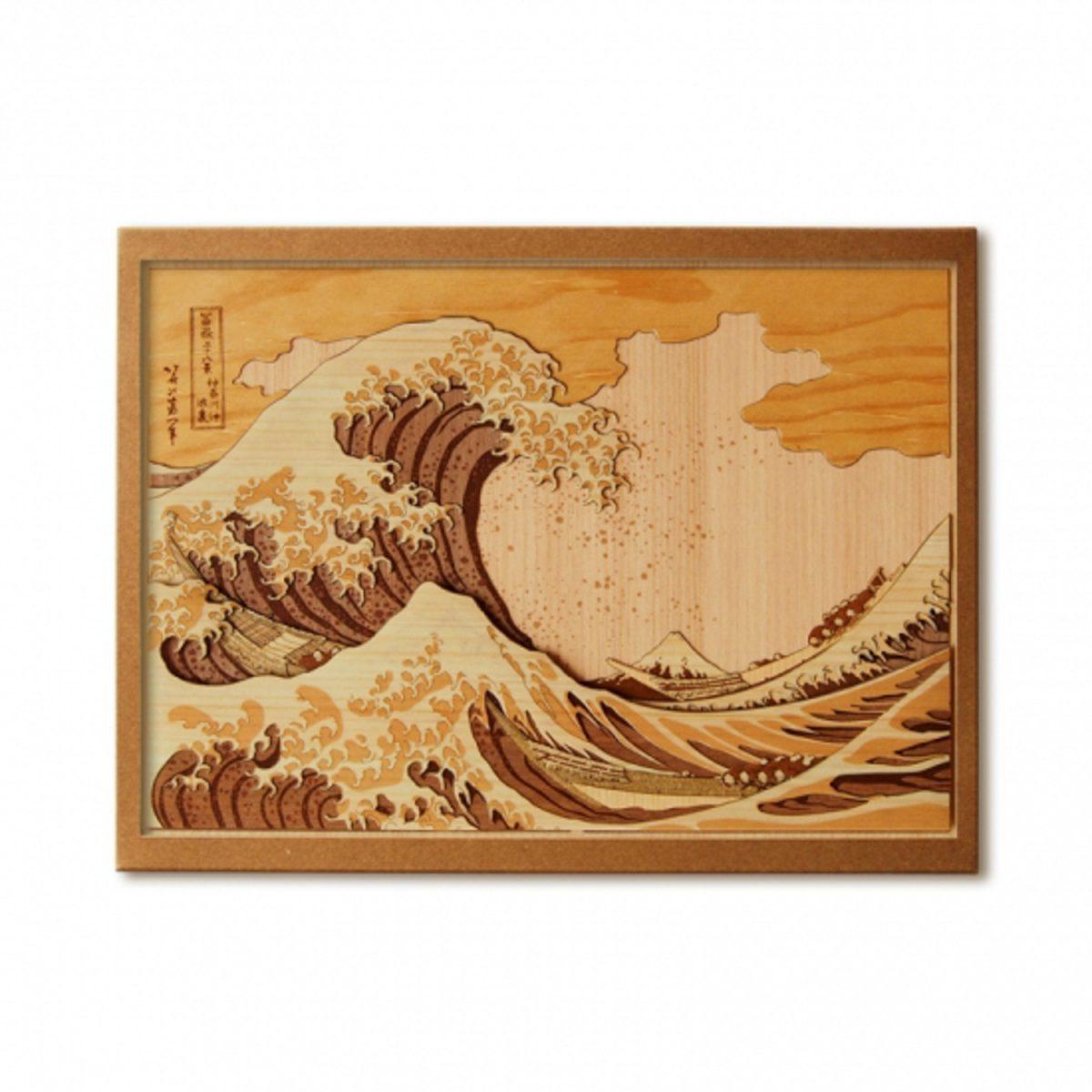 Набор Кихари «Большая волна», гравюра