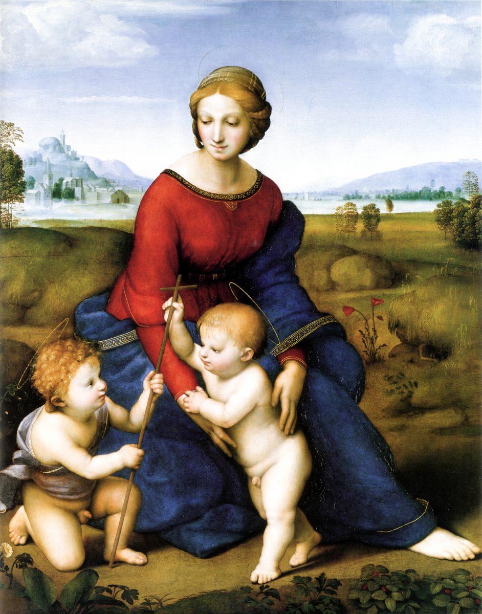 Мадонна в зелени. Сандро Ботичелли