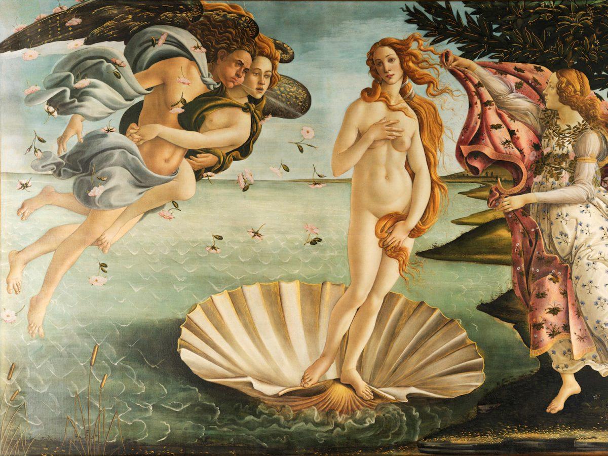 Рождение Венеры. Сандро Ботичелли