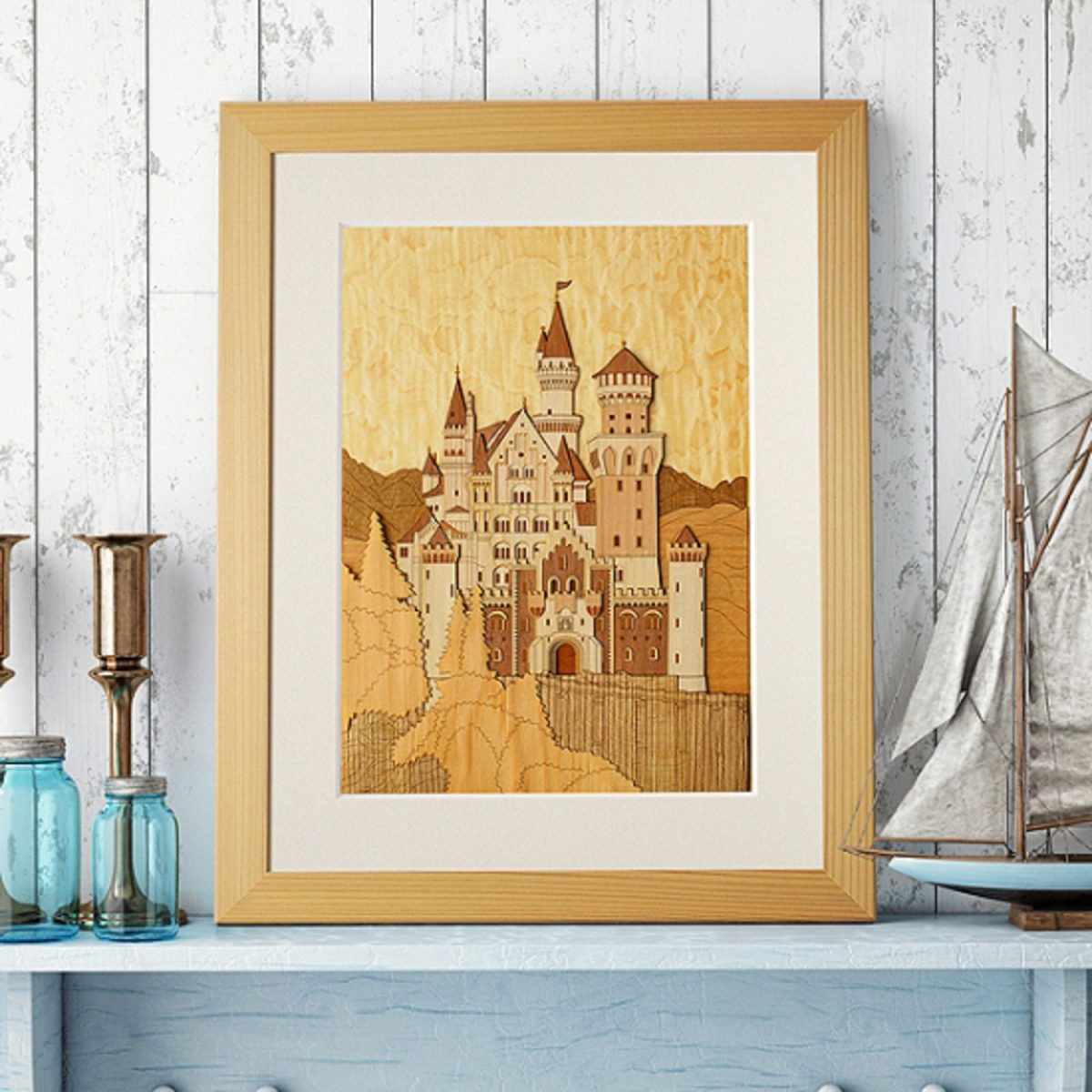 Набор «Замок Нойшванштайн»