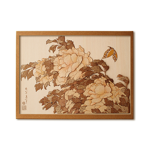 Набор Кихари «Пион и бабочка»